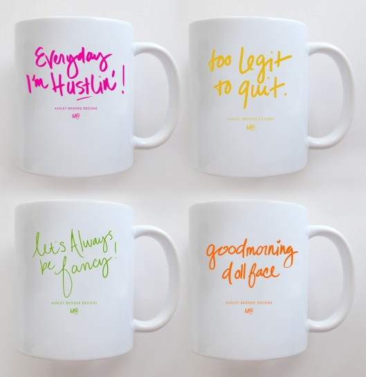 The catchiest mugs ever!